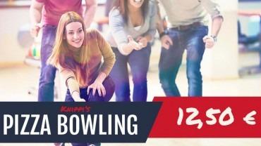 Pizza-Bowling